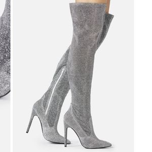 Sexy over the knee boots - fall fashion heels